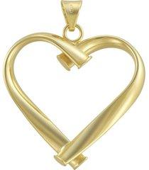 ciondolo cuore in oro per donna