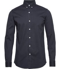 alex shirt overhemd business blauw fram