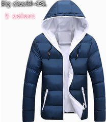high qualitywinter jacket warm down jacket fashion men's hooded outwear
