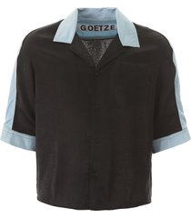 goetze ted two-tone shirt