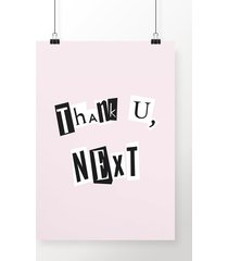 poster thank u, next