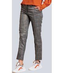 broek alba moda bruin::oranje