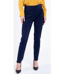 eleganckie spodnie w kant alba