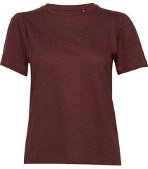 day carina t-shirts & tops short-sleeved röd day birger et mikkelsen