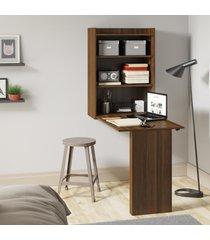 mesa dobrável multimóveis multiuso com armário de parede duna
