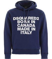 dsquared2 born in canada hoodie