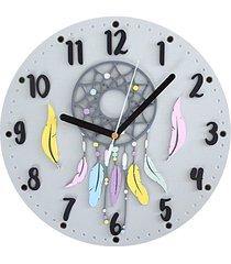 zegar ścienny łapacz snów
