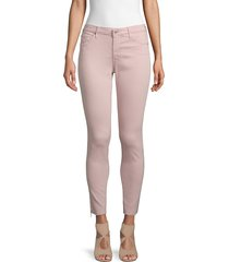 ag jeans women's super skinny ankle jeans - peaked pink - size 31 (10)