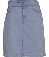 marleeiw skirt kort kjol blå inwear