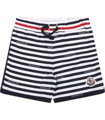 moncler multicolor shorts for babyboy