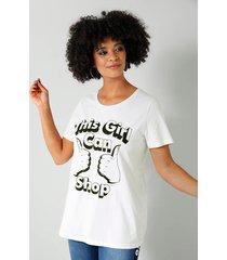 shirt angel of style wit::zwart