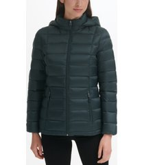 charter club women's packable down puffer coat, created for macy's