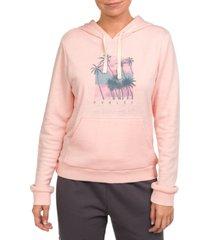hurley koh lanta perf fleece pullover hoodie