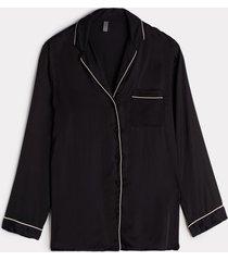 giacca in raso di viscosa taglio uomo