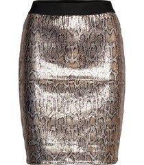 bydean skirt - kort kjol silver b.young