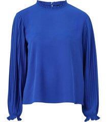 blus onlfaith l/s frill top