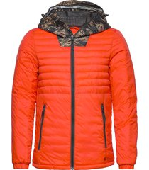 desert alchemy quilted hoody fodrad jacka orange superdry