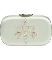 giambattista valli zodiac embellished clutch -