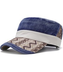 cappello da viaggio per la casa casual da uomo regolabile in stile antivento