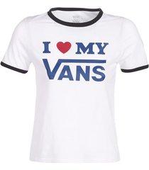 t-shirt korte mouw vans vans love ringer