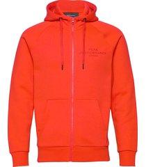 m orig zh hoodie trui rood peak performance