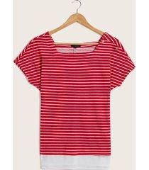 camiseta marinera rojo 14