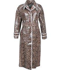 patent python trench coat