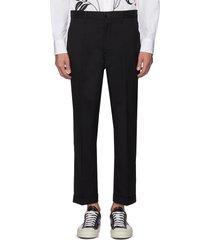crop tailored pants