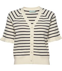 chantel knit gebreide trui cardigan wit morris lady