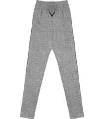 calça rovitex plus size legging cinza