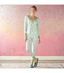florentine fleur henley pajamas