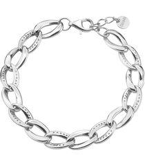 bracciale in argento 925 e zirconi per donna