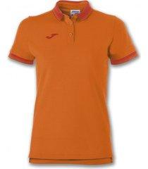 polo shirt korte mouw joma bali ii oranje m/c poloshirt (100748-800)
