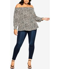plus size prowess top