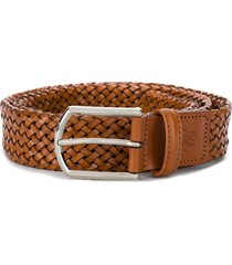 canali woven belt - brown