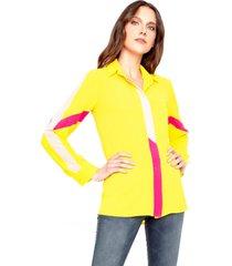blusa brina amarillo le civette