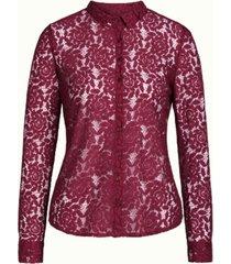 geprinte blouse rosie damask