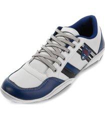 sapatãªnis cotton 4141 azul marinho - azul marinho - masculino - dafiti