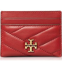 tory burch designer handbags, kira chevron card case