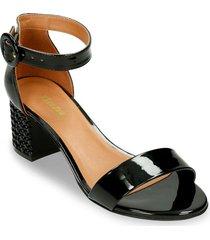 sandalias negro bata anteri mujer
