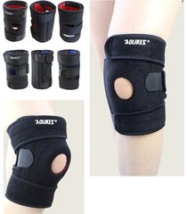 supporto gonfiabile elastico registrabile unisex sport comodo protector ginocchio traspirante