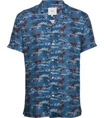 emanuel overhemd met korte mouwen blauw minimum