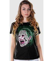 camiseta dc comics bandup! esquadrão suicida the joker prince of crime