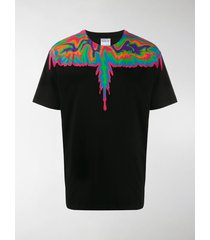 marcelo burlon county of milan psychedelic wings t-shirt