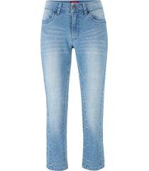 jeans cropped morbidi (blu) - john baner jeanswear