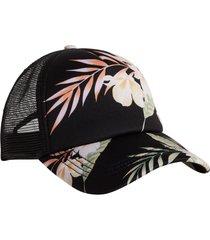 women's billabong heritage mashup trucker cap -
