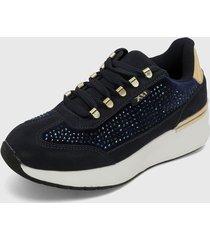 tenis azul navy-blanco xti