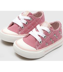 zapatilla canvas  rosado bubble gummers