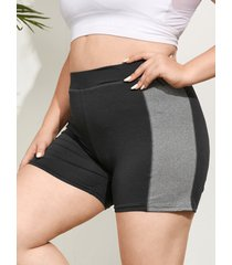 leggings yoins plus size patchwork design