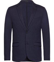 superflex knitted blazer blazer kavaj blå lindbergh